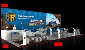 Taotao Group德国展台设计-2016科隆摩托车展INTERMOT